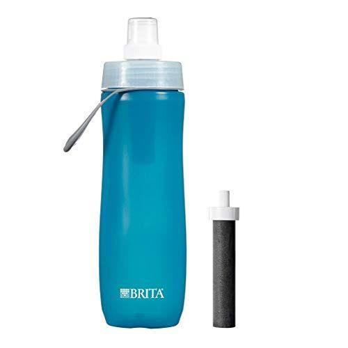 """<p><strong>Brita </strong></p><p>amazon.com</p><p><strong>$39.90</strong></p><p><a href=""""https://www.amazon.com/dp/B004GN8RDY?tag=syn-yahoo-20&ascsubtag=%5Bartid%7C10055.g.27312224%5Bsrc%7Cyahoo-us"""" rel=""""nofollow noopener"""" target=""""_blank"""" data-ylk=""""slk:Shop Now"""" class=""""link rapid-noclick-resp"""">Shop Now</a></p><p>Great to keep in your gym bag or bring on a trip, Brita's squeezable 20-ounce bottle is <strong>s</strong><strong>uper affordable and quickly filters chlorine,</strong> <strong>improving the odor and taste of water</strong> as you sip. The filter is right in the cap so you don't have to wait to hydrate. It's lightweight (even when full) and dishwasher-safe.</p>"""