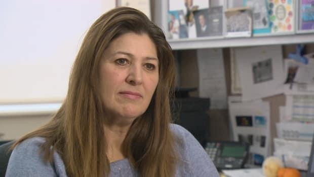 New Brunswick Nurses Union president Paula Doucet said the nurse shortage in the province is only getting worse, adding that the recent reduction of hours at some hospital ERs could be the 'tip of the iceberg.' (CBC - image credit)