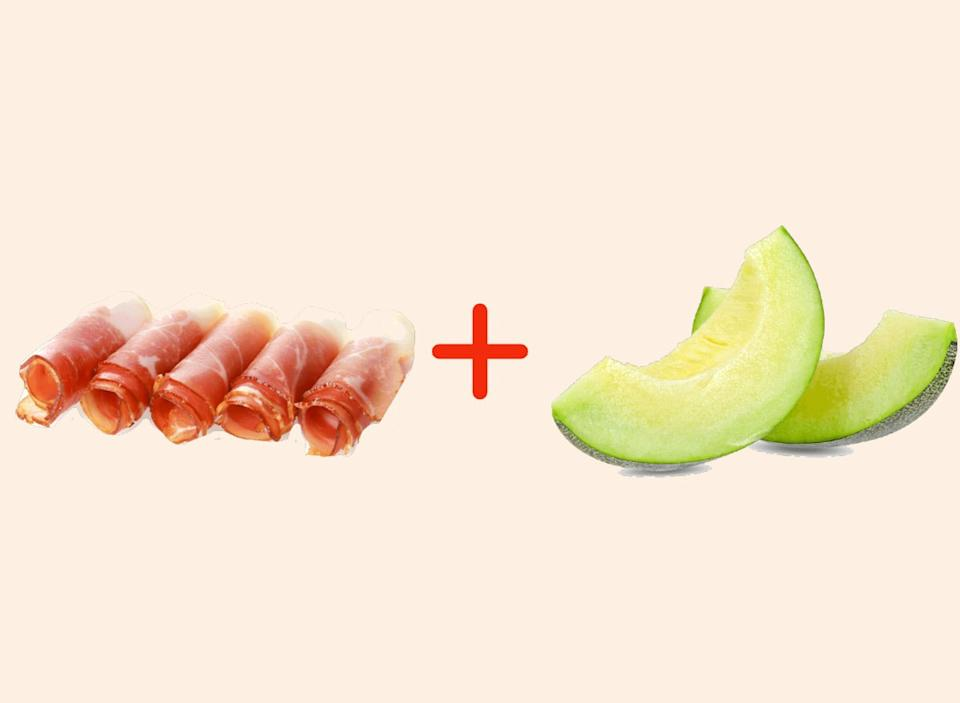 prosciutto with melon amazing food pairings