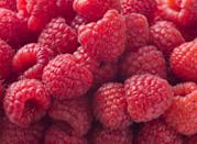 "<p>Raspberries are one of the highest-fiber fruits, with one cup containing 8 grams. As a nutrient-packed choice, raspberries provide antioxidants and <a href=""https://www.goodhousekeeping.com/health/diet-nutrition/g26630133/low-sugar-foods/"" rel=""nofollow noopener"" target=""_blank"" data-ylk=""slk:blood-sugar"" class=""link rapid-noclick-resp"">blood-sugar</a> stabilizing benefits, especially when combined with a source of <a href=""https://www.goodhousekeeping.com/health/diet-nutrition/g28567768/best-high-protein-snacks/"" rel=""nofollow noopener"" target=""_blank"" data-ylk=""slk:protein"" class=""link rapid-noclick-resp"">protein</a>. Add 'em to your <a href=""https://www.goodhousekeeping.com/food-recipes/easy/g871/quick-breakfasts/"" rel=""nofollow noopener"" target=""_blank"" data-ylk=""slk:breakfast"" class=""link rapid-noclick-resp"">breakfast</a>, whether that's oatmeal, a smoothie, or yogurt—it'll help boost your energy levels and keep you satisfied until lunchtime.</p><p><strong>RELATED: </strong><a href=""https://www.goodhousekeeping.com/health/diet-nutrition/a20705822/healthiest-low-sugar-fruits/"" rel=""nofollow noopener"" target=""_blank"" data-ylk=""slk:The 9 Healthiest Low-Sugar Fruits You Should Be Eating"" class=""link rapid-noclick-resp"">The 9 Healthiest Low-Sugar Fruits You Should Be Eating</a></p>"