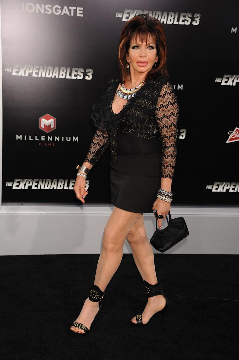 Ivone Weldon arrives at the premiere of The Expendables 3 held at TCL Chinese Theater in Hollywood (Photo: Frank Trapper via Getty Images)