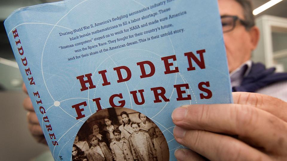 """Johnson work for NASA as she faced gender and race discriminations was the inspiration for the book """"Hidden Figures"""" by , Margot Lee Shetterly. (NASA Langley)"""