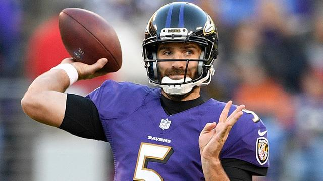 NFL Network Insider Ian Rapoport reports the Baltimore Ravens acquire fourth-round pick in exchange for Denver Broncos quarterback Joe Flacco.