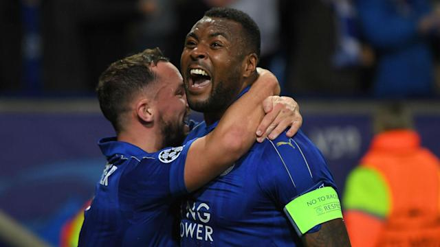 Leicester captain Wes Morgan has been absent since the Champions League last-16 win over Sevilla but may face Atletico Madrid.