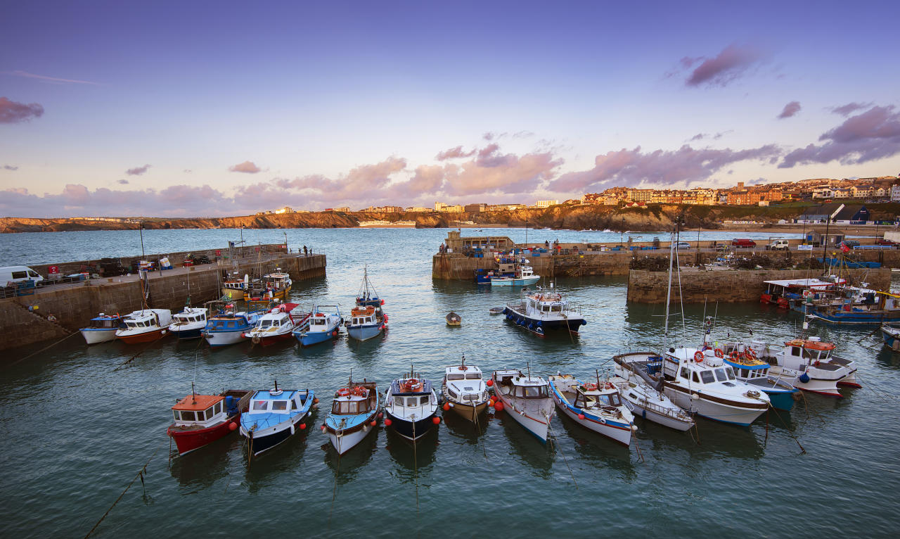 <p>Prefer a pamper to a party? Then head to Newquay on Cornwall's north coast, where the Headland Hotel is the perfect place to unwind. Spabreaks.com has a two-night B&B packageover New Year's Eve from £178 per person, including a three-course dinner in the award-winning Samphire Restaurant and your choice of 30-minute treatments, plus afternoon tea with mulled wine and full use of the spa facilities. [Photo: Getty] </p>