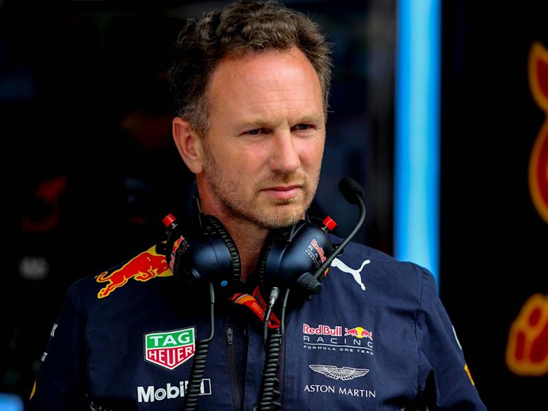 Christian Horner believes Formula One will help save struggling teams during the coronavirus crisis: EPA