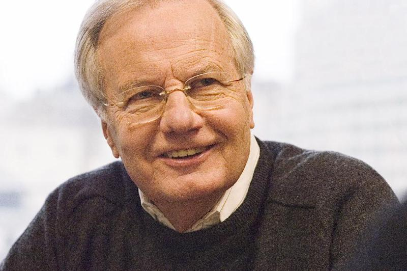 """In this 2004 image released by Public Affairs Television, Bill Moyers is shown. At age 77, Moyers is re-engaging with his audience when """"Moyers & Company"""" premieres on public television stations across the country this weekend. (AP Photo/Public Affairs Television, Peter Krogh)"""