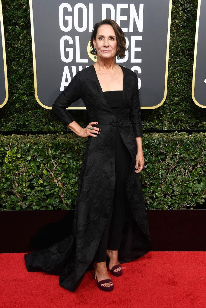 <p>Laurie Metcalf, who is nominated in the Best Performance by an Actress in a Supporting Role in any Motion Picture category for <em>Lady Bird</em>, attends the 75th Annual Golden Globe Awards at the Beverly Hilton Hotel in Beverly Hills, Calif., on Jan. 7, 2018. (Photo: Steve Granitz/WireImage) </p>