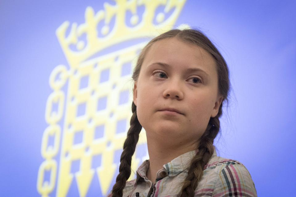 File photo dated 23/4/2019 of Greta Thunberg who has said that climate experts are not being listened to despite the coronavirus pandemic highlighting the importance of following science.