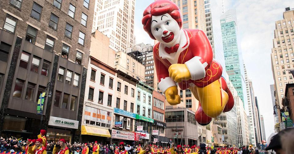 Noam Galai | Getty Images. Nomura Instinet raises its third-quarter same-store sales growth estimate for McDonald's to 3.9 percent from 3.3 percent.