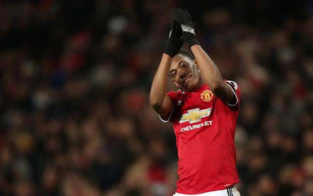 Anthony Martial showed what he is capable of with a sublime finish into the top corner