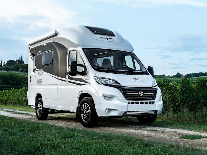 The Oasi 540 on the road