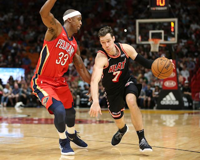 "<a class=""link rapid-noclick-resp"" href=""/nba/players/4507/"" data-ylk=""slk:Goran Dragic"">Goran Dragic</a> has had All-Star skills for a while. (AP)"