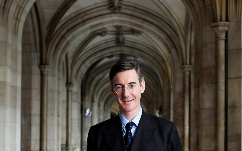 Jacob Rees-Mogg - Credit: Clara Molden for The Telegraph