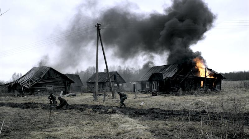 """The undated photo provided by German TV broadcaster ZDF shows a scene of the wartime drama 'Our mothers, our fathers' (Unsere Muetter, unsere Vaeter). With the wartime generation rapidly disappearing, the television drama about five young Germans in World War II has revived debate in Germany about the role ordinary men and women played in the Nazis' murderous campaign to conquer Europe. Millions tuned in last week to watch the three-part series """"Our Mothers, Our Fathers,"""" which follows five young Germans _ two brothers, a nurse, an aspiring female singer and a Jewish tailor _ as they struggle through one of the bloodiest conflicts in history. (AP Photo/ZDF, David Slama)"""