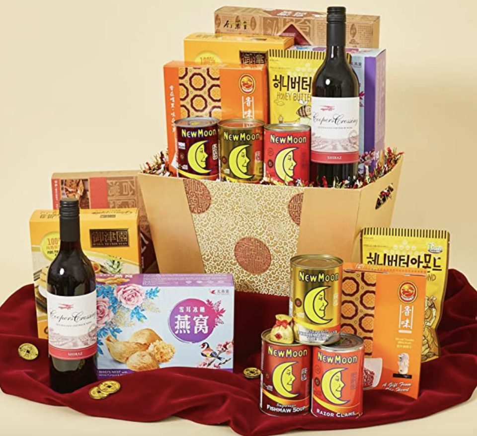 A Hearty Prosperous hamper. (PHOTO: Amazon)