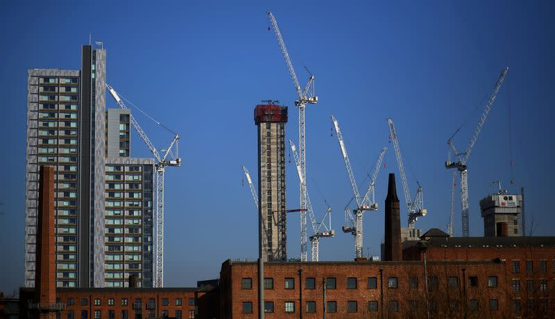 UK construction activity falls in March at fastest rate since 2009 - PMI