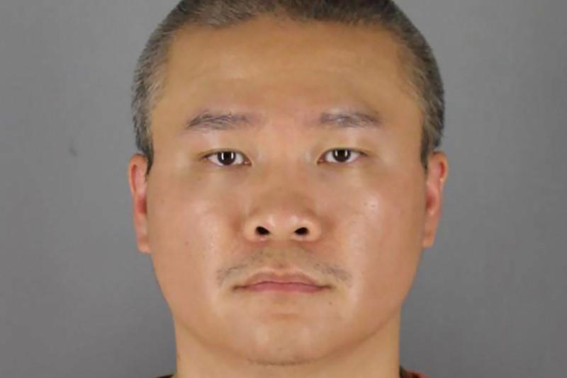 Former Minnesota police officer Tou Thao poses for a booking photograph in Minneapolis