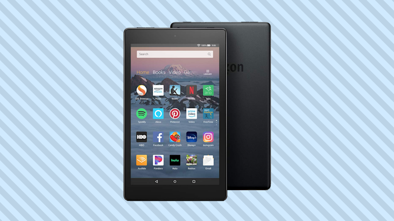 Save nearly 20 percent on the Fire HD 8 and get some free goodies—thanks to QVC. (Photo: Amazon)