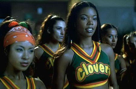 "<p><strong>Movie:</strong> <em>Bring It On</em></p><p><a href=""https://www.menshealth.com/fitness/a23873861/dwyane-wade-gabrielle-union-couples-workout/"" rel=""nofollow noopener"" target=""_blank"" data-ylk=""slk:Union"" class=""link rapid-noclick-resp"">Union</a>'s character Isis was iconic in the 2000 film. But the actress was well past her teen years when filming, being 28 at the time of its release. </p>"