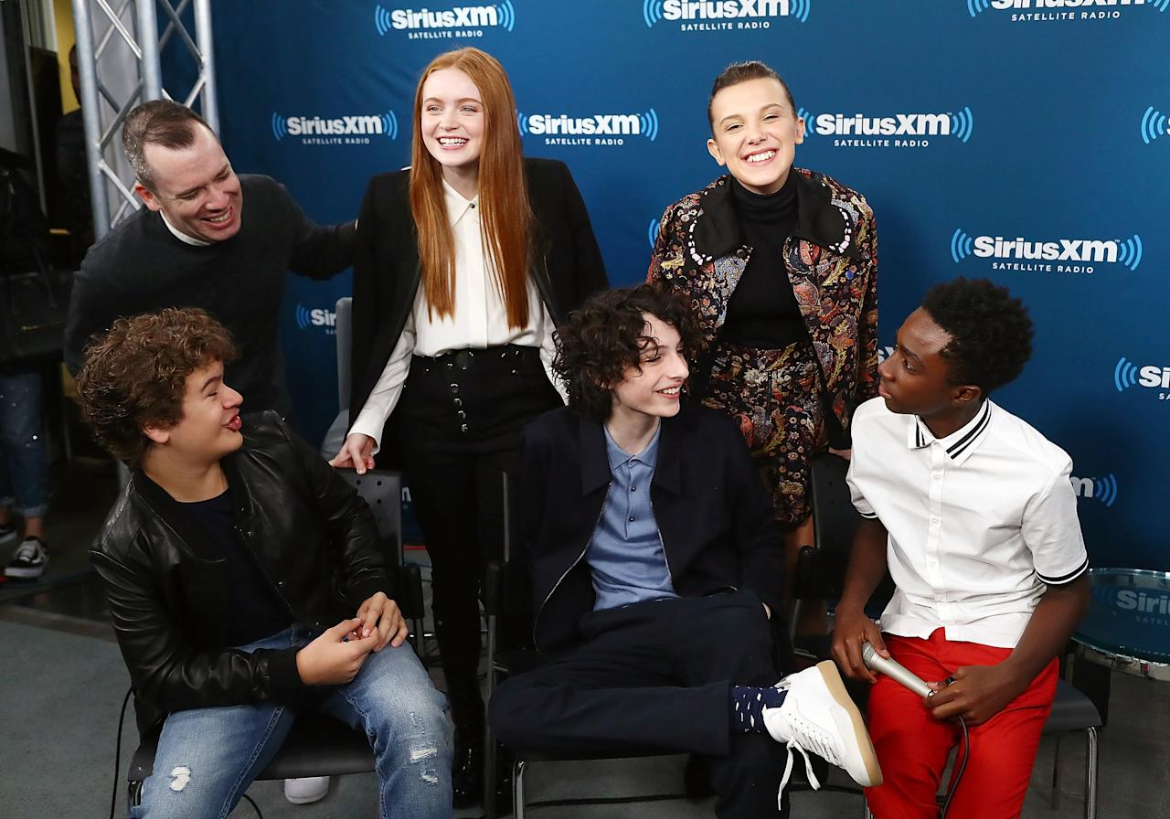 "The cast of the supernatural series ""Stranger Things"" didn't have to be"