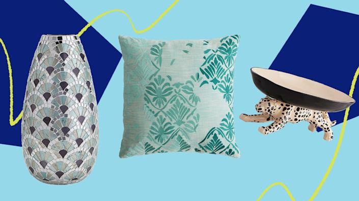 There's a lot of cute home decor hiding at Pier 1's sitewide sale right now. (Photo: HuffPost )