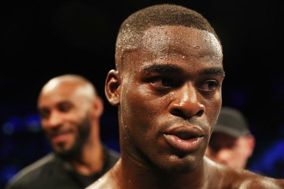 Joshua Buatsi picked up the British title with a third round stoppage (Getty)