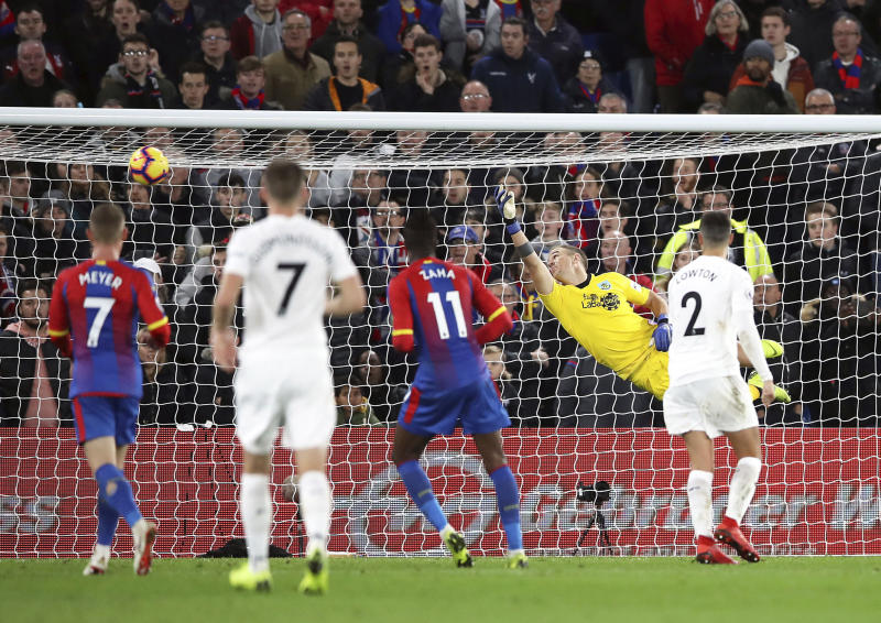 Crystal Palace boss Roy Hodgson spies Burnley win