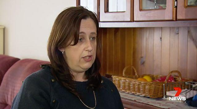 Cindy Stephenson said drugs failied to stop her migraines, which struck after she gave birth to twins. Photo: 7 News