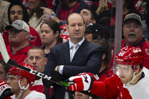 Capitals sack coach Reirden after Stanley Cup playoff elimination