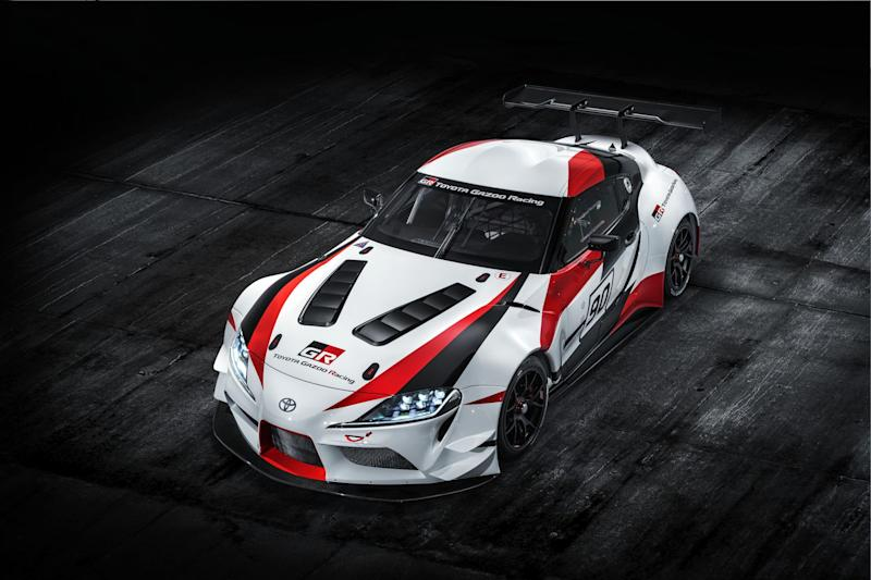 Toyota GR Supra Racing Concept Heading to Gran Turismo Sport