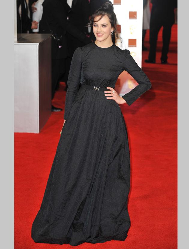 BAFTAs 2012: Jessica Brown Findlay
