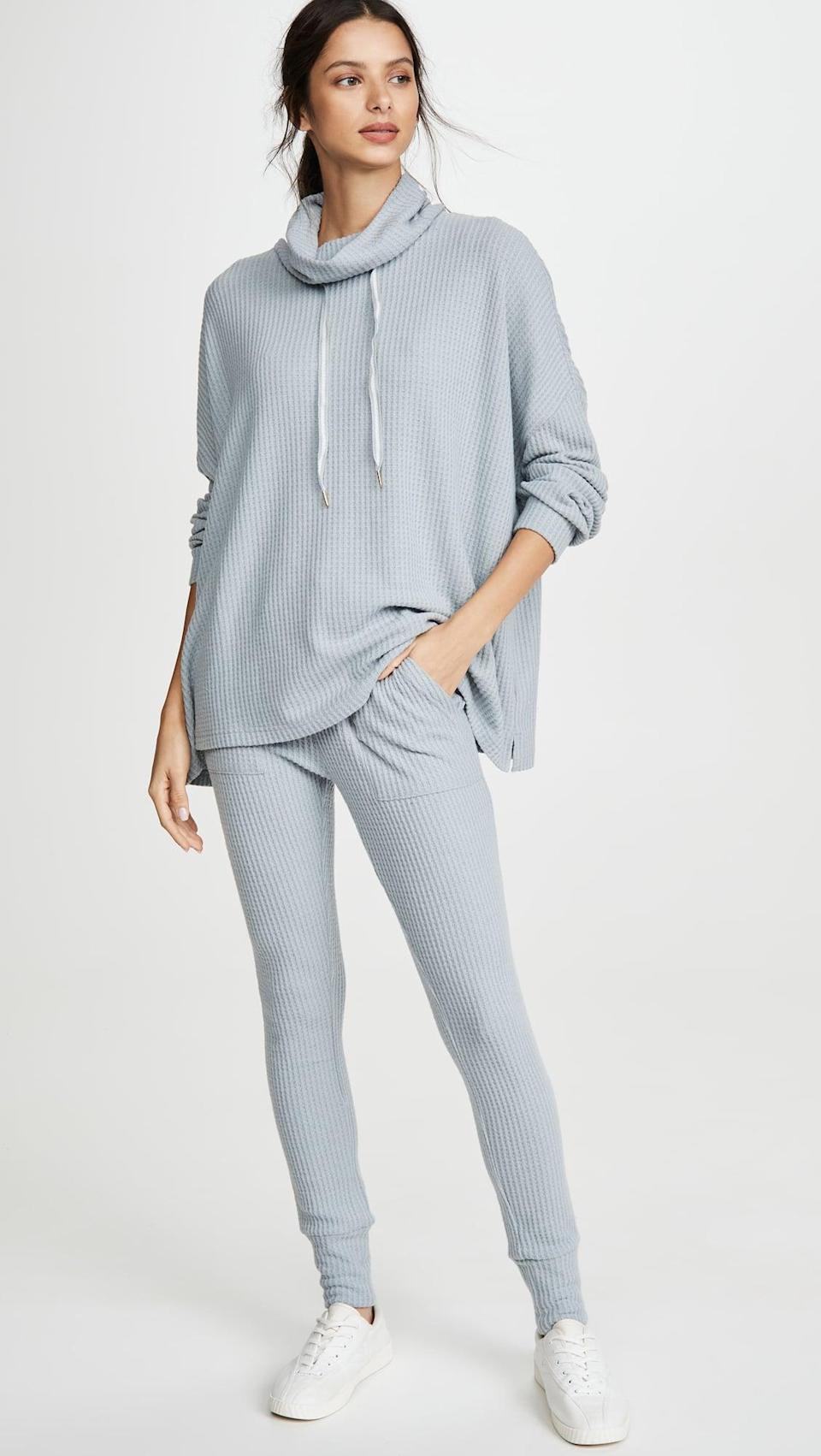 <p>Chill at home in this <span>Honeydew Intimates Lounge Pro Pullover Top</span> ($64, plus use code FALL20).</p>