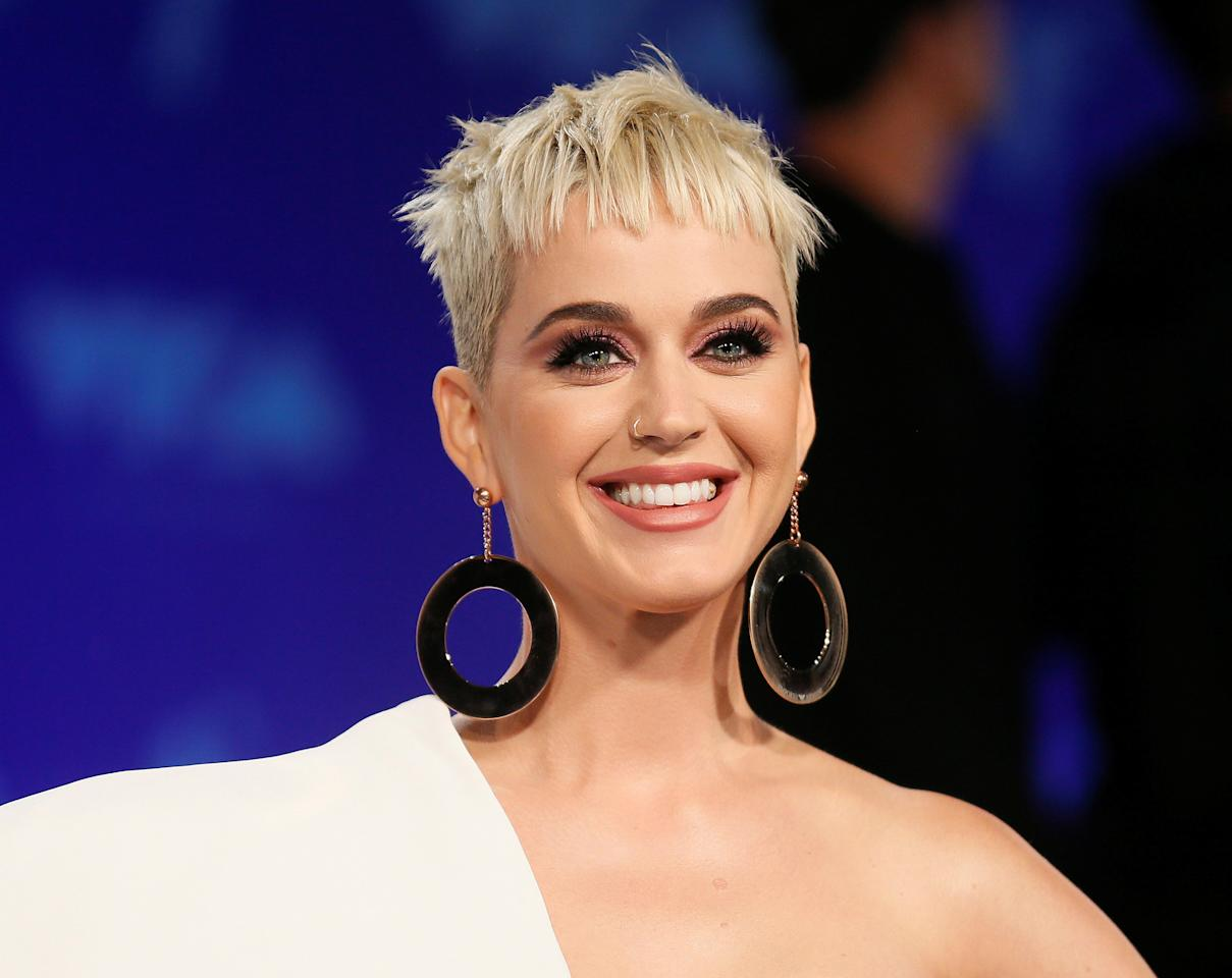 FILE PHOTO: 2017 MTV Video Music Awards – Arrivals – Inglewood, California, U.S., 27/08/2017 - Katy Perry. REUTERS/Danny Moloshok/File Photo