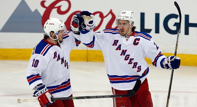 "<a class=""link rapid-noclick-resp"" href=""/nhl/players/4251/"" data-ylk=""slk:Ryan McDonagh"">Ryan McDonagh</a> and J.T. Miller are headed to Tampa Bay. (Getty)"