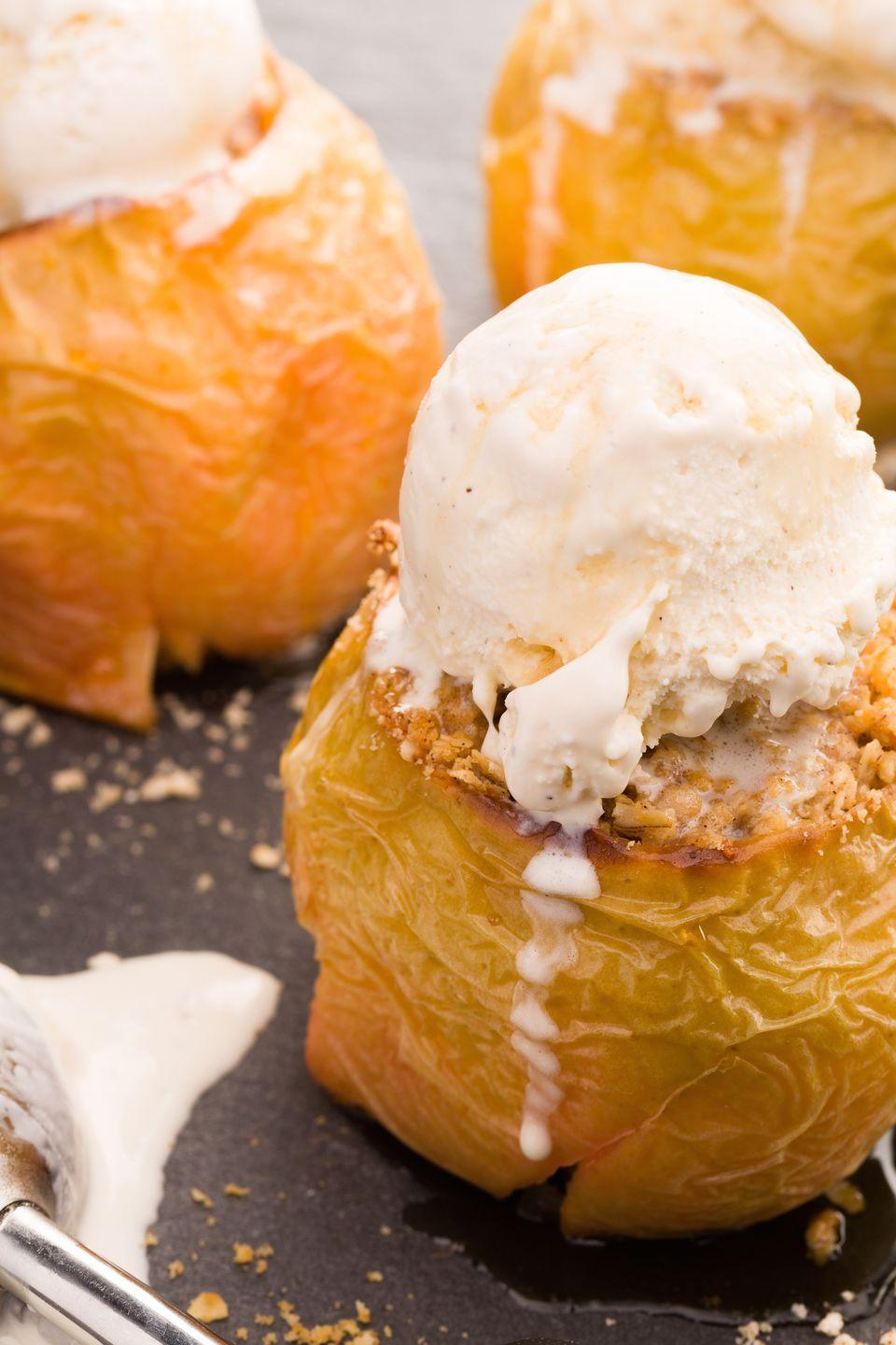"""<p>An easy fall dessert to whip up for a crowd.</p><p>Get the recipe from <a href=""""https://www.delish.com/cooking/recipe-ideas/recipes/a43869/baked-apple-crisps-recipe/"""" rel=""""nofollow noopener"""" target=""""_blank"""" data-ylk=""""slk:Delish"""" class=""""link rapid-noclick-resp"""">Delish</a>.</p>"""