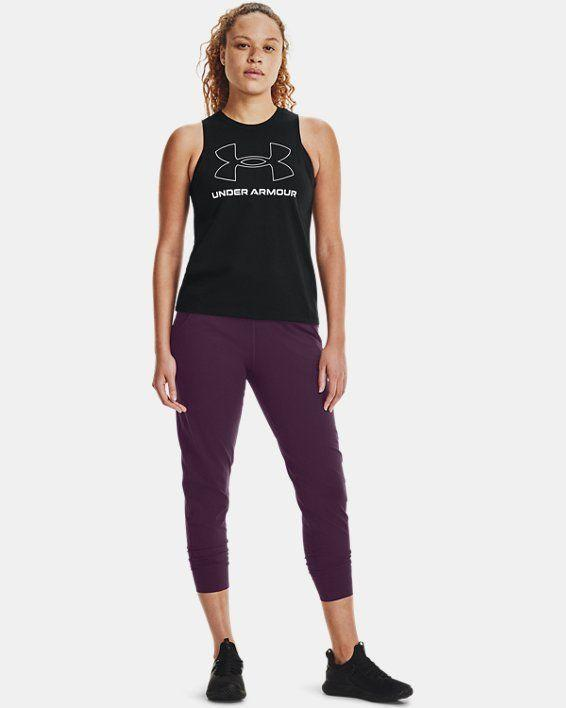 """<p>underarmour.com</p><p><strong>$56.99</strong></p><p><a href=""""https://go.redirectingat.com?id=74968X1596630&url=https%3A%2F%2Fwww.underarmour.com%2Fen-us%2Fp%2Fbottoms%2Fwomens-ua-meridian-joggers%2F1355917.html&sref=https%3A%2F%2Fwww.womenshealthmag.com%2Ffitness%2Fg36719192%2Fbest-joggers-for-women%2F"""" rel=""""nofollow noopener"""" target=""""_blank"""" data-ylk=""""slk:Shop Now"""" class=""""link rapid-noclick-resp"""">Shop Now</a></p><p>This cropped (and super quick-drying) jogger is an MVP in the saddle. """"These are my favorite joggers to cycle in because of their amazing sweat-wicking fabric,"""" says Mindy Sartori, instructor for <a href=""""http://www.cyclebar.com/go"""" rel=""""nofollow noopener"""" target=""""_blank"""" data-ylk=""""slk:CycleBar GO"""" class=""""link rapid-noclick-resp"""">CycleBar GO</a>. """"The fabric is soft, lightweight, and doesn't get too loose while working out.""""</p>"""