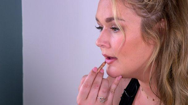 PHOTO: Hunter McGrady prepares for New York Fashion Week. (ABC News)