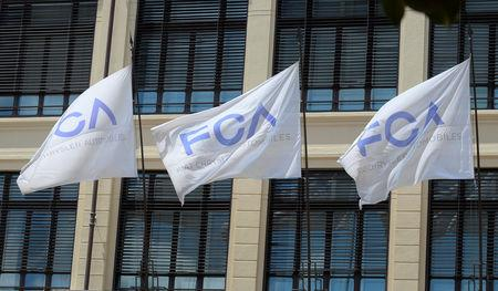 FILE PHOTO: Fiat Chrysler Automobiles (FCA) headquarters are seen in Turin, Italy, July 21, 2018. REUTERS/Massimo Pinca