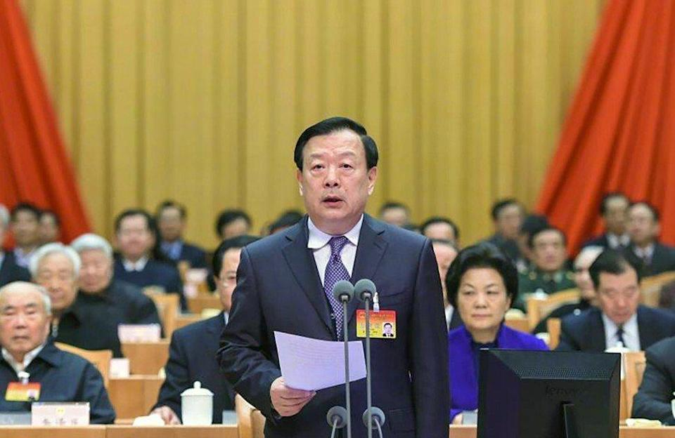 Xia Baolong heads the State Council's Hong Kong and Macau Affairs Office, China's top body overseeing the cities. Photo: Weibo