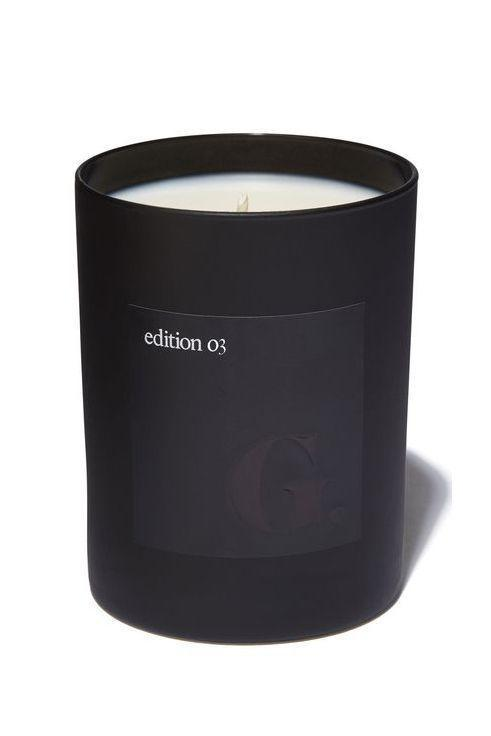 """<p><strong>goop</strong></p><p>goop.com</p><p><strong>$72.00</strong></p><p><a href=""""https://goop.com/goop-beauty-scented-candle-edition-03-incense/p/"""" rel=""""nofollow noopener"""" target=""""_blank"""" data-ylk=""""slk:Shop Now"""" class=""""link rapid-noclick-resp"""">Shop Now</a></p><p>""""My favorite candle brand are the G edition Goop candles (not the vagina or orgasm ones, lol). My signature scent is edition 3, which is called Incense. While it does have notes of the signature nose-filling incense smells, the candle instantly transports me to a crisp fall morning in the forest with a wood fire burning somewhere in the area. It's homey, earthy, and calming all in one and has lasted me a few months despite burning nightly!""""—<em>Kevin LeBlanc, fashion closet assistant</em></p>"""