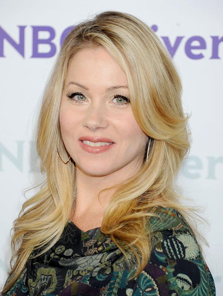 "<a href=""/christina-applegate/contributor/33397"">Christina Applegate</a> (""<a href=""/up-all-night/show/47420"">Up All Night</a>"") attends the 2012 NBC Universal Winter TCA All-Star Party at The Athenaeum on January 6, 2012 in Pasadena, California."