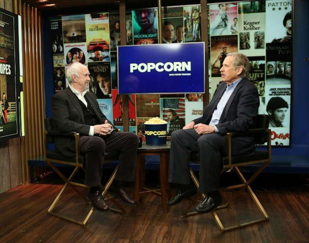 PHOTO: Jonathan Pryce appears on 'Popcorn with Peter Travers' at ABC News studios, Jan. 10, 2019, in New York City. (Angela Williams/ABC News)