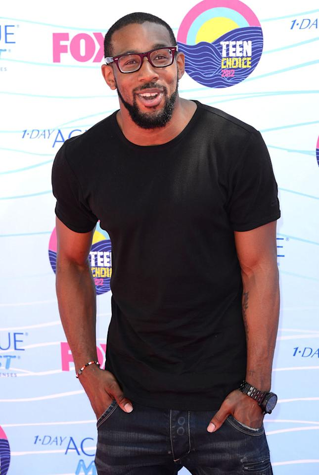 Dancer Twitch arrives at the 2012 Teen Choice Awards at Gibson Amphitheatre on July 22, 2012 in Universal City, California.