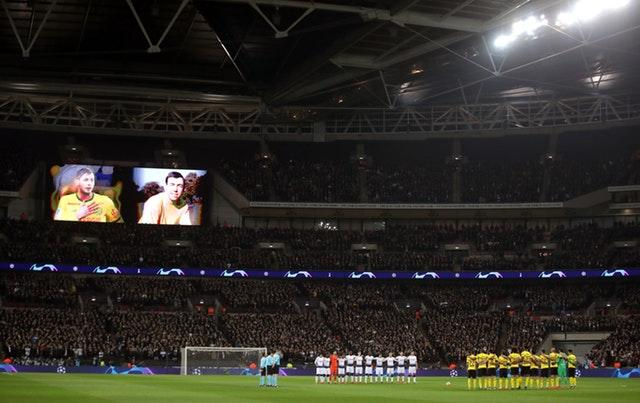 Tottenham were forced to play at Wembley for 18 months while their new stadium was built (Adam Davy/PA)