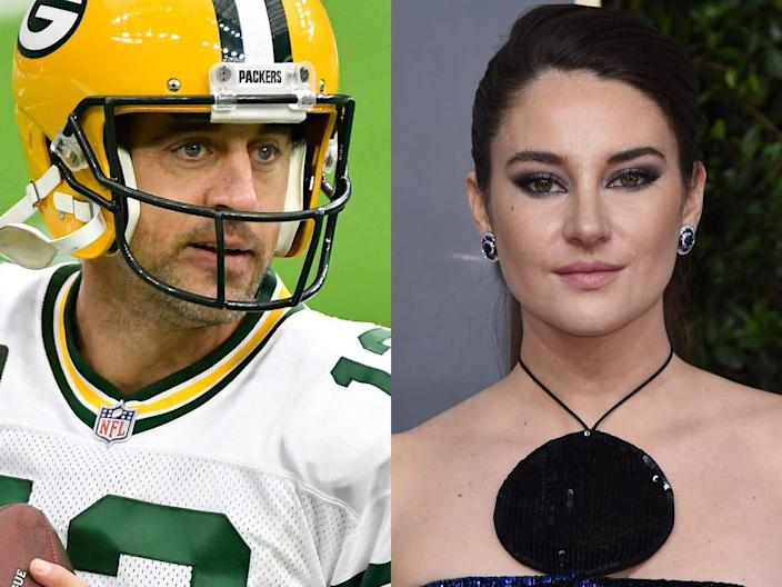 aaron rodgers and shailene woodley 2