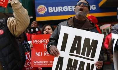 Fast Food Strike: Workers Walk Out In US Cities