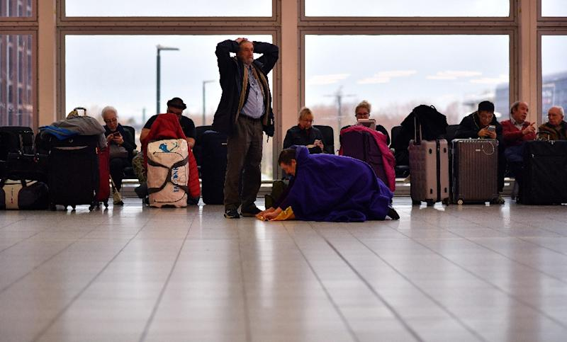 Gatwick grounded all flights just before Christmas, leaving tens of thousands of passengers stranded (AFP Photo/Ben STANSALL)