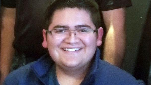 PHOTO: This undated photo provided by Rachel Short shows Kendrick Castillo, who was killed during a shooting at the STEM School Highlands Ranch on Tuesday, May 7, 2019, in Highlands Ranch, Colo. (Rachel Short via AP)