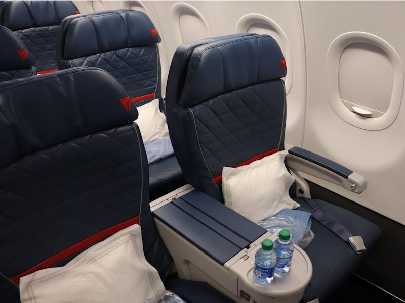 Delta Elite Status Day Trip - Airbus A321 first class
